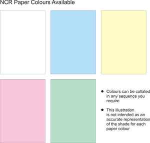 Quadruplicate NCR Bespoke Paper Sequence Quadruplicate NCR Bespoke Paper Sequence MDPrintShop.co.uk