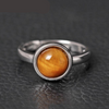 Image of Ring-Tigerauge-Silber-100