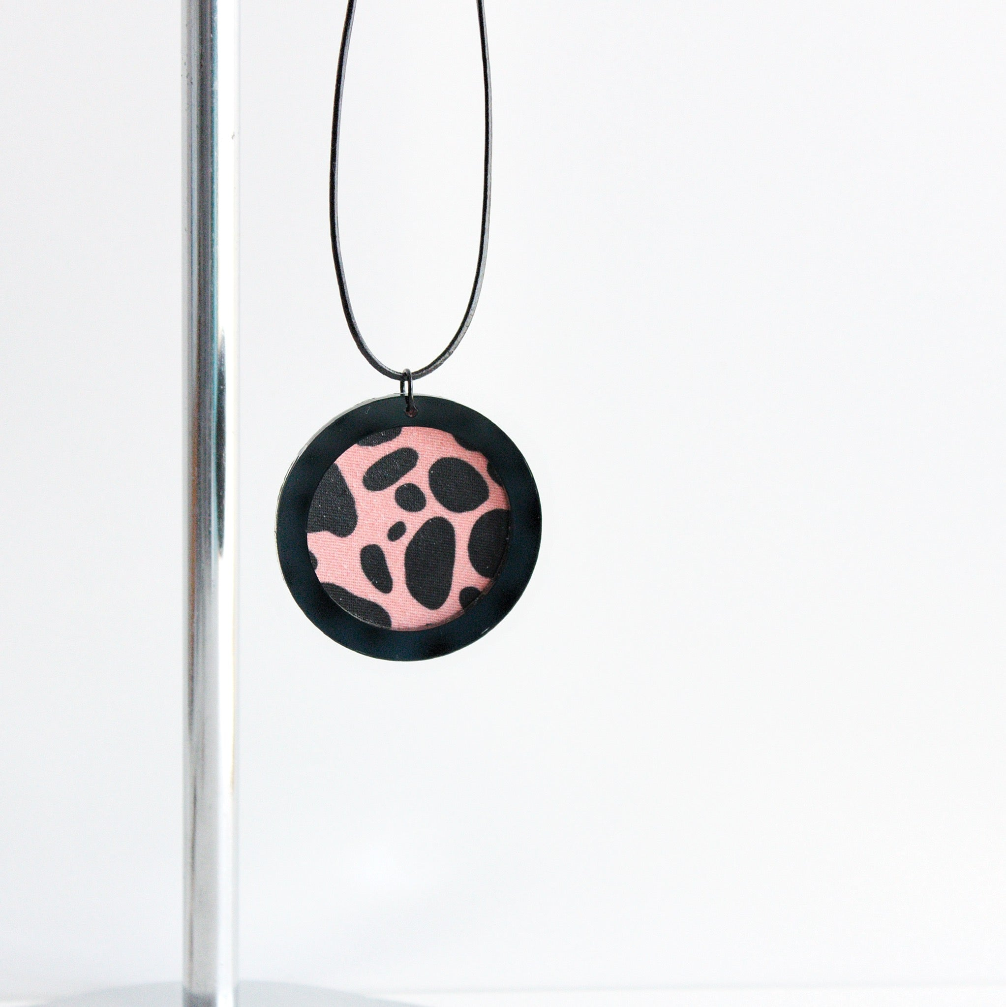 Sorbet Animal Print Necklace