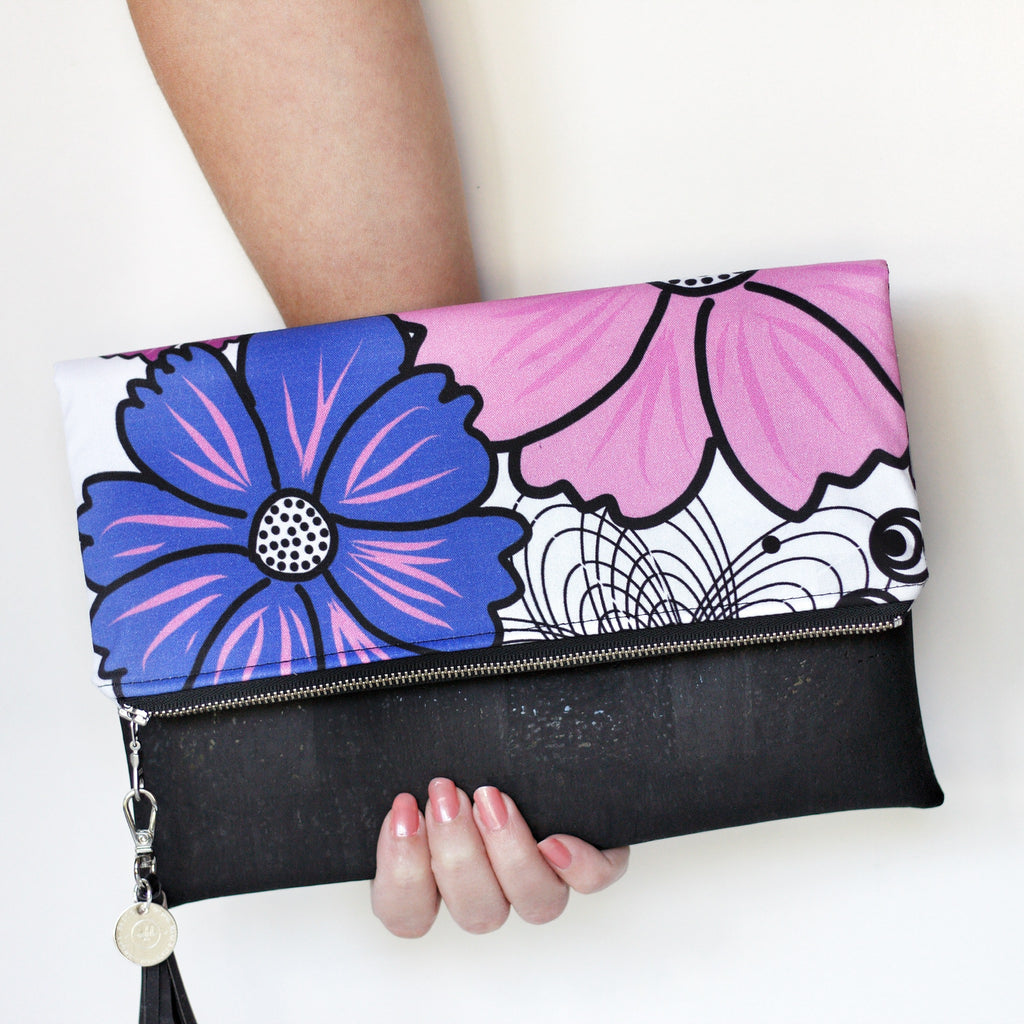 """Dillan"" Fold Over Clutch"