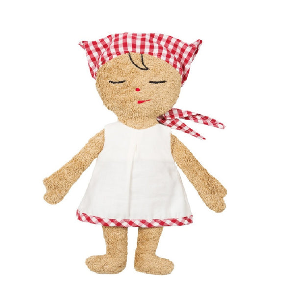 an organic soft rag doll. First baby doll. Your perfect organic baby soft toy. All our Efie toys are non-toxic toys and are your perfect organic new baby gift! German eco-friendly toys which are fair trade and natural cuddly toys and organic dolls. Environmentally friendly eco baby toys made to the highest GOTS standards.