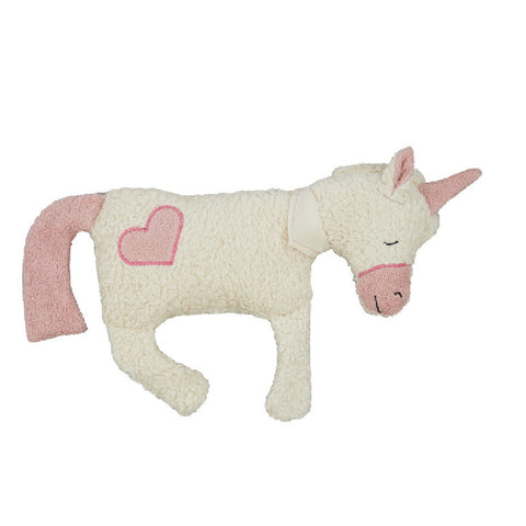 Organic unicorn soft toy. Organic soft toy. Plastic free and toxin-free toddler gift. Organic soft toy.