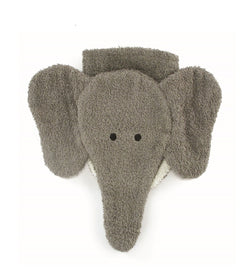 Organic Elephant Children's Flannel Wash Mitt