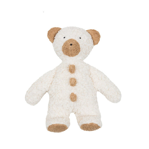 Organic teddy soft toy. I'm a organic teddy bear non-toxic and plastic free. a perfect new baby gift organic baby gift