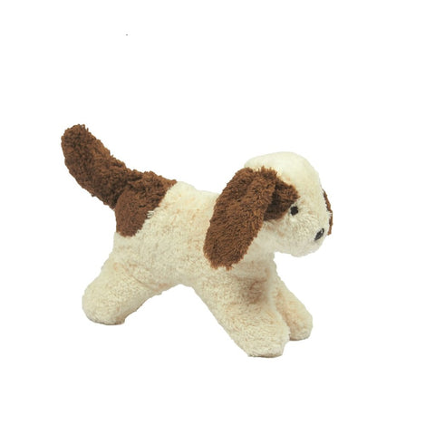 organic soft toy, small dog soft toy, organic baby toys from onepurefox are the best natural baby toys .