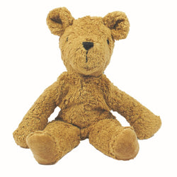 the senger organic teddy bear soft toy. Medium sized organic teddy uk.