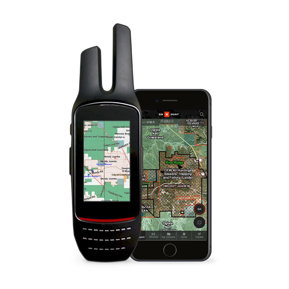 OnX GPS Hunting Map w/ Land Ownership Chip