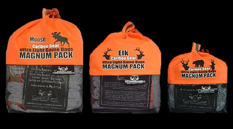 Caribou Gear Game bags -Magnum Pack