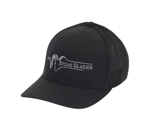 Hat - Stone Glacier Flexfit Tucker Black