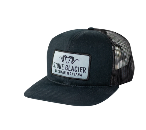 Stone Glacier Montana Patch Foamy - BLACK