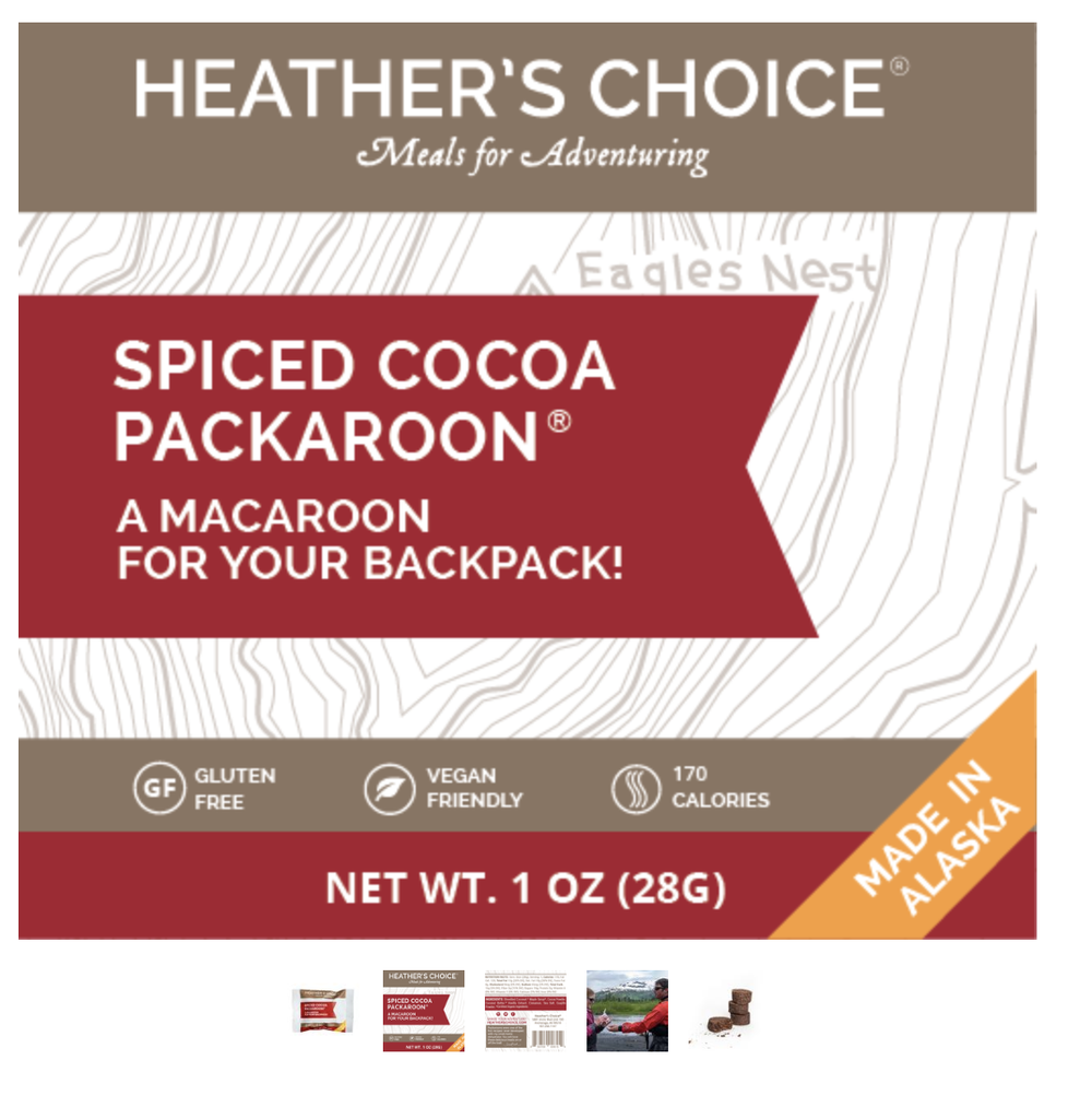 Heather's Choice Spiced Cocoa Packaroons - Single Serving