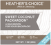 Heather's Choice Sweet Coconut Packaroons -Single