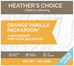 Heather's Choice Orange Vanilla Packaroons -Single Serving