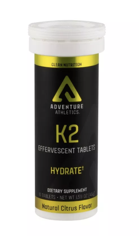 Adventure Athletics - K2 Effervescent Tablets