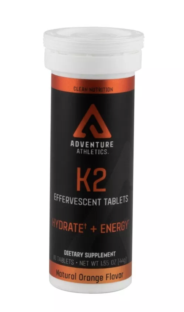 Adventure Athletics - K2 Tablets + Caffeine