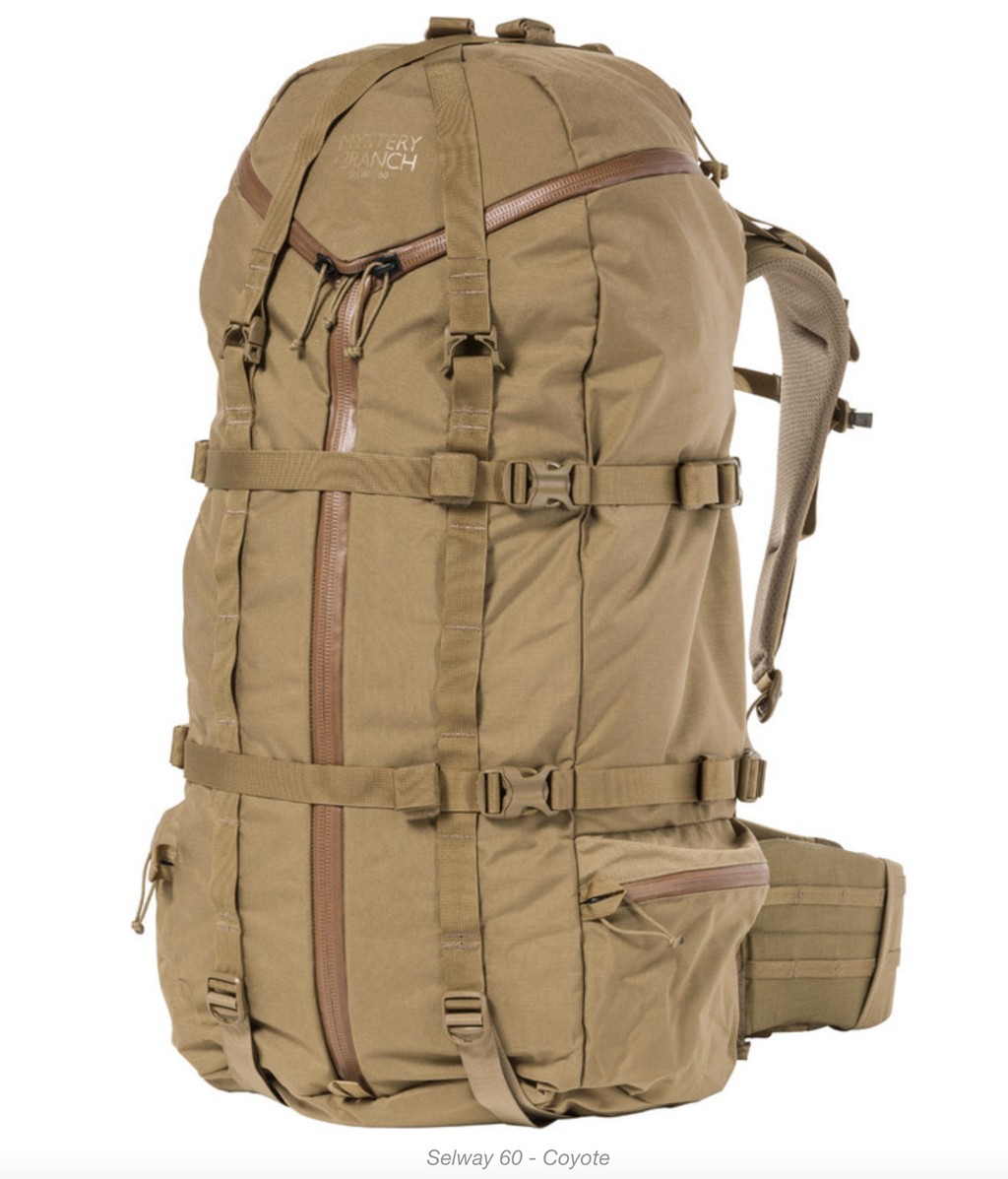 Selway 60 Mystery Ranch Pack