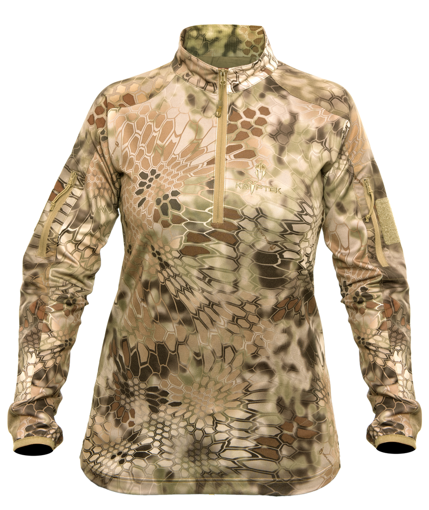 KRYPTEK  VALHALLA 2 1/4 ZIP-WOMEN'S