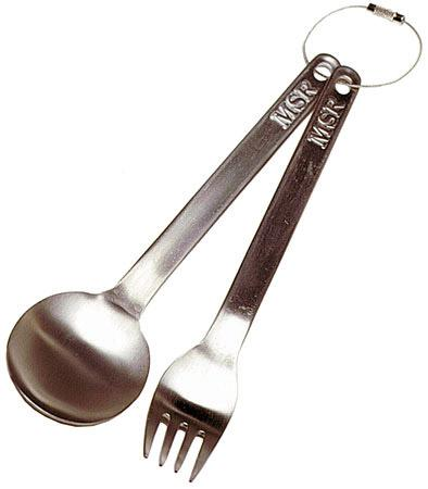 MSR Titan Fork and Spoon Set
