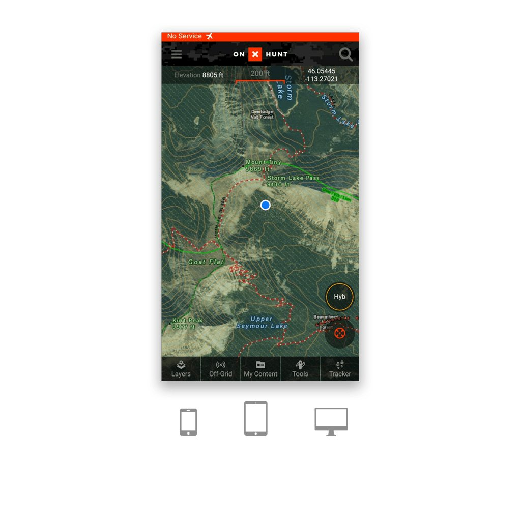 onX Hunt Premium Membership App for Smartphone