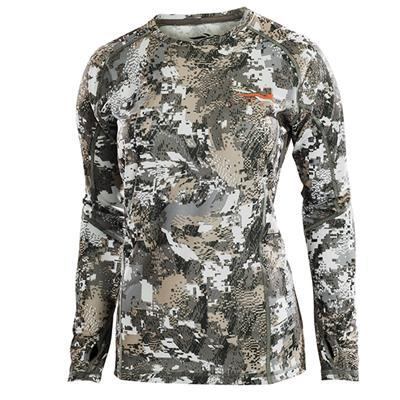 Sitka Women's Core Lt Wt Crew-Long Sleeve