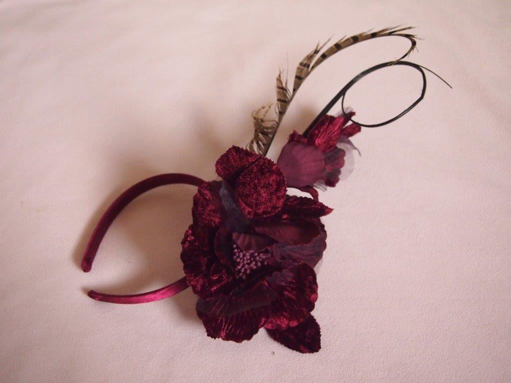 """Talyn"" Burgundy 