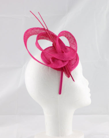 "Image of ""Brittany"" Pink Fascinator"