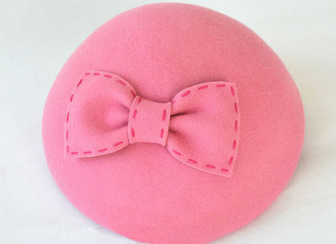 "Image of ""Emily"" Pink Vintage Fascinator-Hat-Fascinators Direct Online-Fascinators Australia"