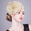 Gold Dust - Stunning Gold Fascinator