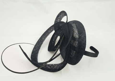 Image of Moya Black Fascinator