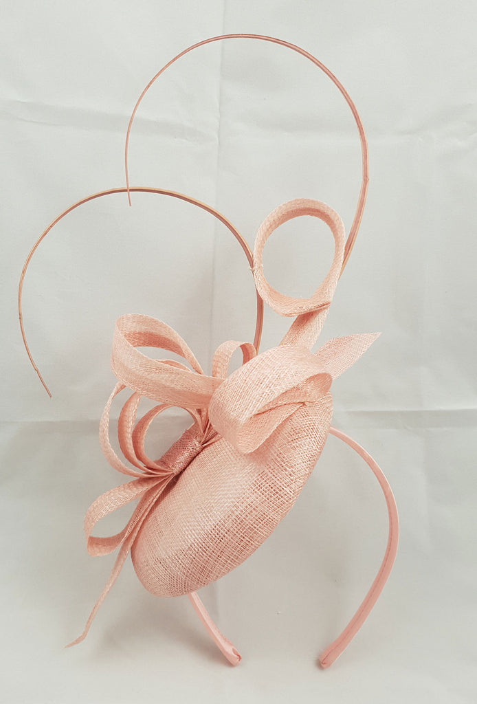 Sara Pale Pink | Blush Fascinator