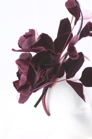 "Image of ""Talyn"" Burgundy 