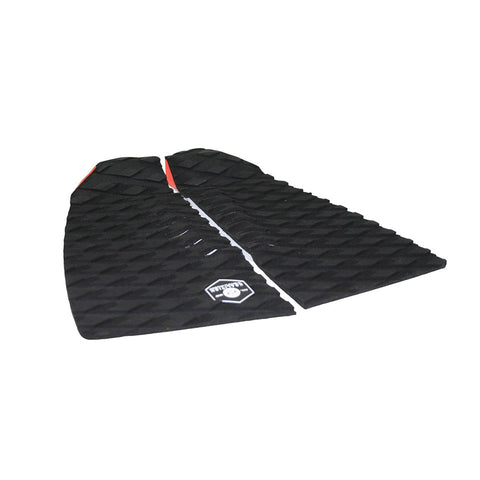 Barrel 2-Piece Traction Tailpad Black