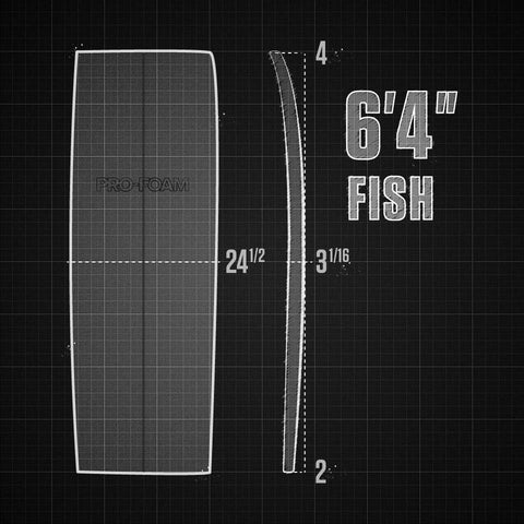"6'4"" EPS Fish Rocker"