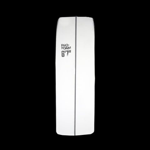 "6'7"" EPS Shortboard Rocker"