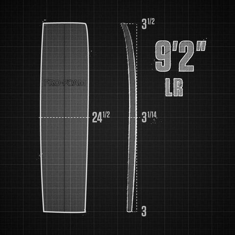 "9'2"" EPS Mal Low Rocker"