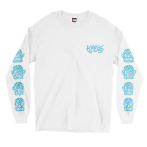 Facemelter Long Sleeve (White)