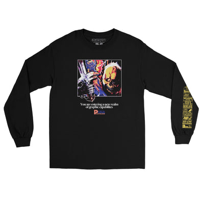 Graphic Hardware Long Sleeve Tee