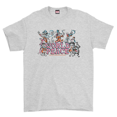 World Peace Tee (Ash Grey)