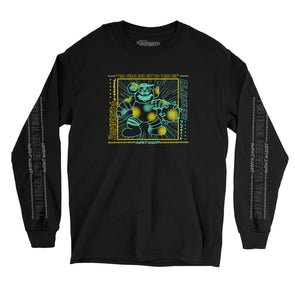 "PLAYDUDE™ x Blast Skates ""Mutant Mascot"" Long-Sleeve Tee"