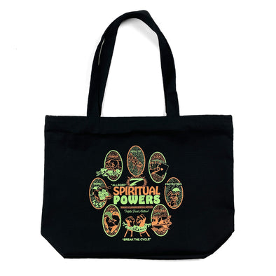 7 Powers Zippered Tote Bag