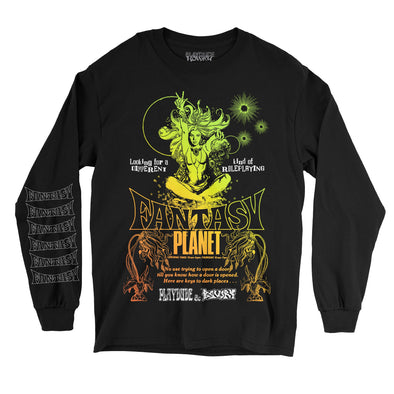 Fantasy Planet Long Sleeve Tee