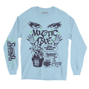 Mystic Love Long Sleeve Tee (Blue)