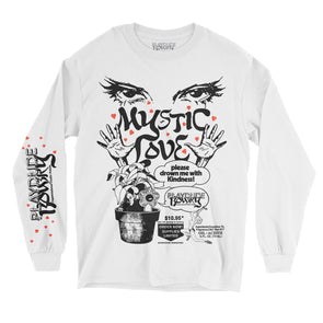 Mystic Love Long Sleeve Tee (White)