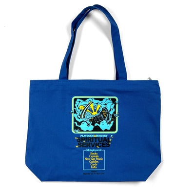 Spiritual Services Zippered Tote Bag