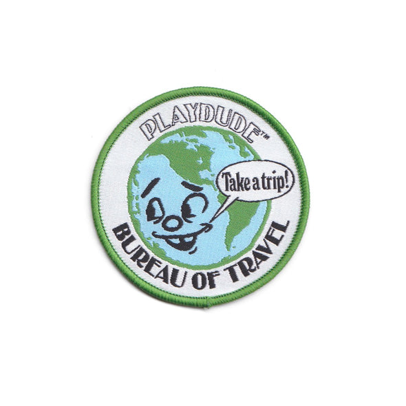 Bureau of Travel Iron-On Patch