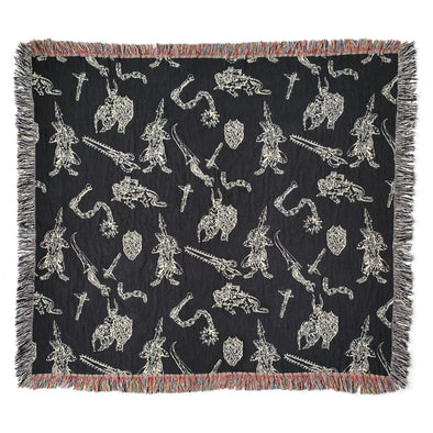 Ghouls Woven Throw