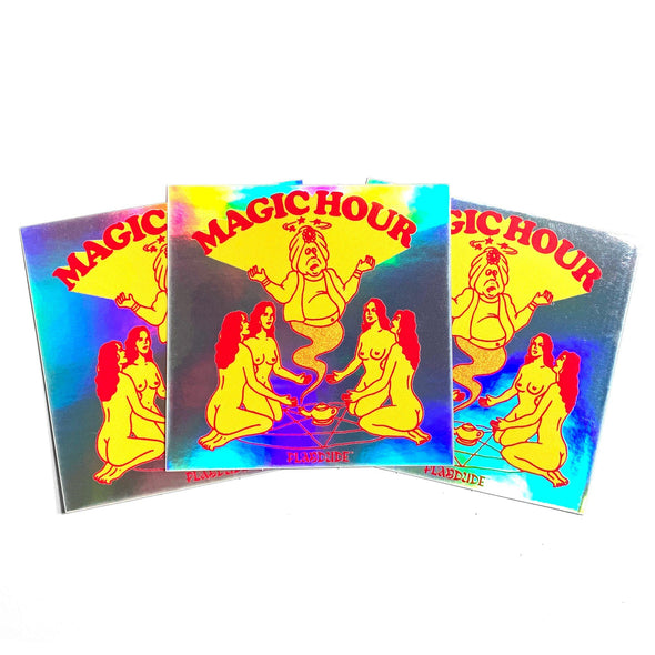 Holographic Magic Hour Stickers