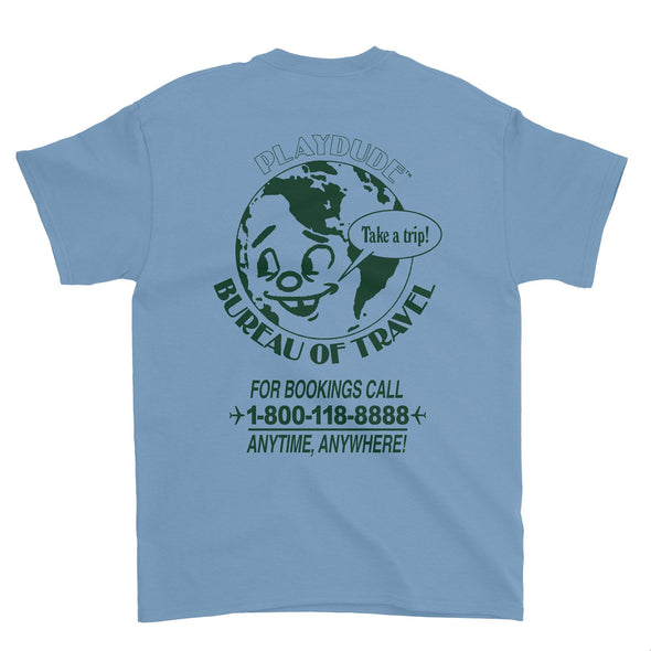 Bureau of Travel Tee (Slate)