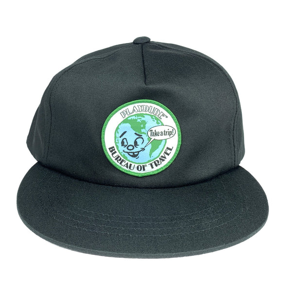 Bureau of Travel Cap (Black)