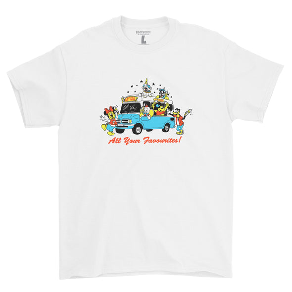 Ice Cream Tee (White)